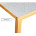 Mesa de cozinha com acabamento a granito JS